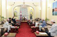 सम्माननीय राष्ट्रपतिज्यूसमक्ष कोरोना भाइरस महामारीको रोकथाम, नियन्त्रण र उपचारमा नेपाल सरकारबाट भए गरेको कामका 'boutमा जानकारी
