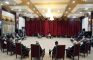Right Honourable President holds Meeting with Leaders of Political Parties