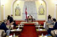 Outgoing French Ambassador to Nepal Calls on to the Right Honourable President
