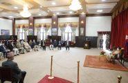सम्माननीय राष्ट्रपति श्रीमती विद्यादेवी भण्डारीज्यूबाट विभिन्न विश्वविद्यालयहरूका कुलपति¸उपकुलपति तथा पदाधिकारीहरूसँग भेटघाटको अवसरमा दिनुभएको मन्तव्य