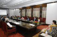 सम्माननीय राष्ट्रपति श्रीमती विद्यादेवी भण्डारीज्यूबाट अन्तर्राष्ट्रिय एकीकृत पर्वतीय विकास केन्द्र (इसिमोड)को प्रतिनिधिमण्डललाई गर्नुभएको सम्बोधन